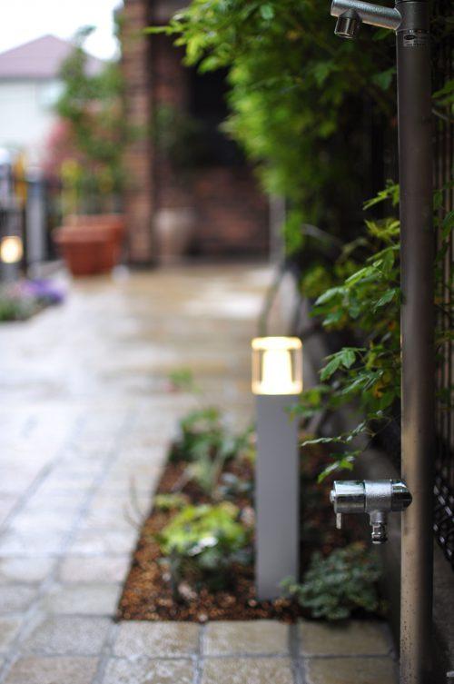 ガーデンライト 立水栓